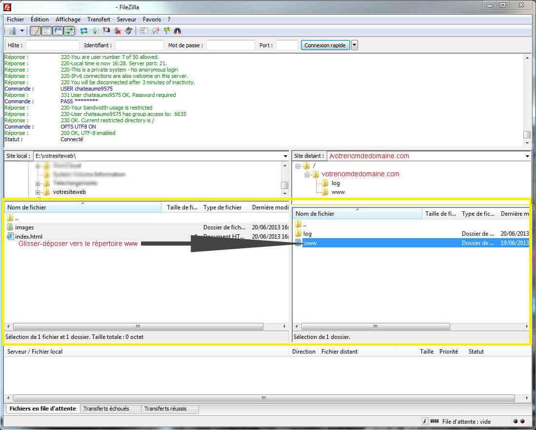 gestion-fichier-filezilla